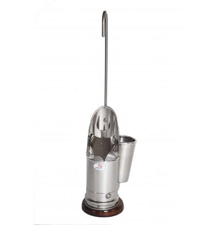 Escanciador de sidra eléctrico e inoxidable 10 cm