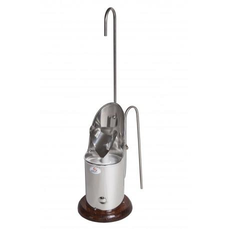 Escanciador de sidra Vasca y Txakoli eléctrico e inoxidable Tamaño 12,5 cm